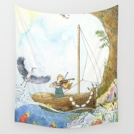 Maritime Festival Celebrations Wall Tapestry