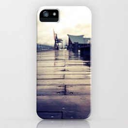 Olympia waterfront  iPhone Case