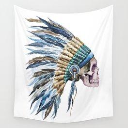 Skull 04 Wall Tapestry