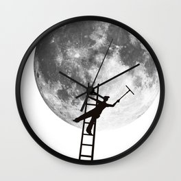 MoonShine Wall Clock