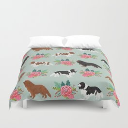 Cavalier King Charles Spaniel must have gift accessories for dog breed owner king charles dog Duvet Cover