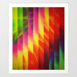 Glorious Stripes Art Print
