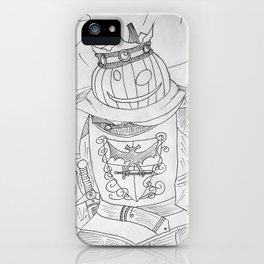 Pumpkin King - Pumpking iPhone Case