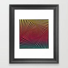 Summer Sunset Twista Framed Art Print