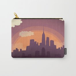 Cityscape Sunset Carry-All Pouch
