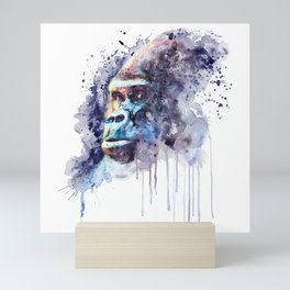 Powerful Gorilla Mini Art Print