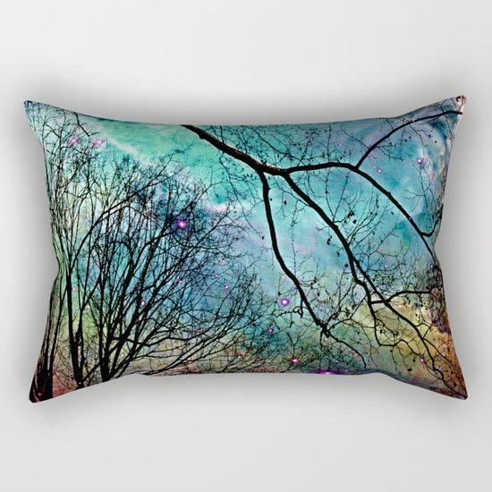 twilight sky Rectangular Pillow