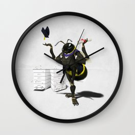 To Bee or Not Too Bee (Wordless) Wall Clock