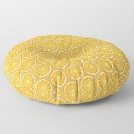 Orange slice Pattern  Floor Pillow