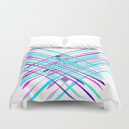 Improvised Geometry Nr. 2, Abstract Duvet Cover