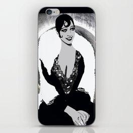 Josephine Baker the Original Flapper and Diva iPhone Skin