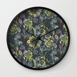 Carnivorous Plants Wall Clock