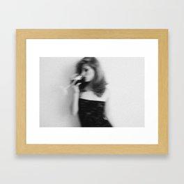 it all seems so... Framed Art Print