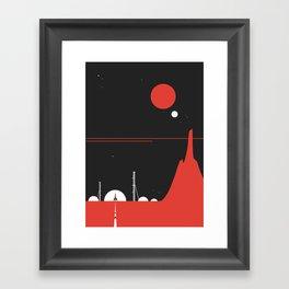 Station0 Framed Art Print