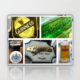 Happy Hour Neon Collage - Bar or Kitchen Decor Laptop & iPad Skin