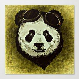 XIX Wild Panda Canvas Print