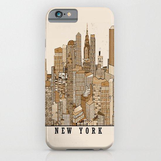 new york vintage (option) iPhone & iPod Case