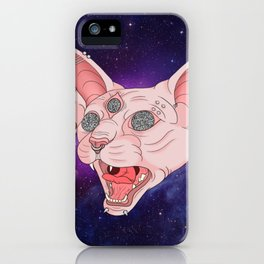 Cats in Space iPhone Case