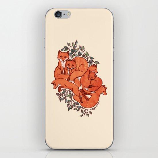 Fox Tangle iPhone & iPod Skin