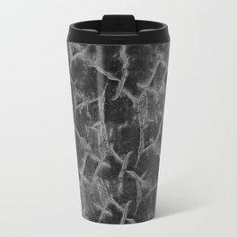Textured pattern grey shades. Travel Mug