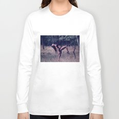 Dancing at the secret beach Long Sleeve T-shirt