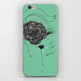 And So It Went iPhone Skin