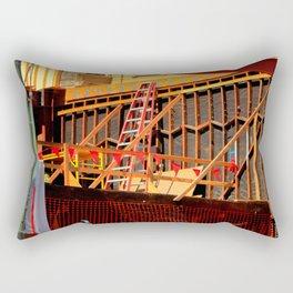 Under Over Construction Rectangular Pillow