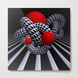 opart imaginary -9- Metal Print