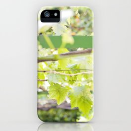 Under the Arbor iPhone Case