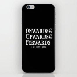 Onwards&Upwards&Forwards. iPhone Skin