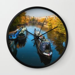 Little Venice London Wall Clock