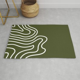 Leaf Thumbprint Rug