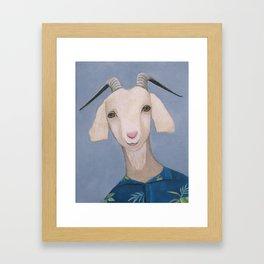 Year of the Goat Framed Art Print