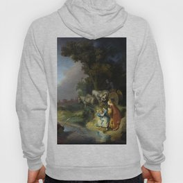 Rembrandt - The Abduction of Europa (1632) Hoody