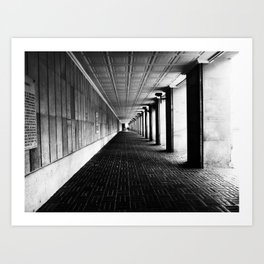 Bogota Street Colombia, architecture Art Print
