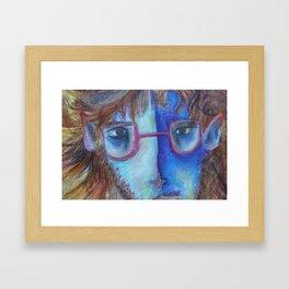 Fungus man Framed Art Print