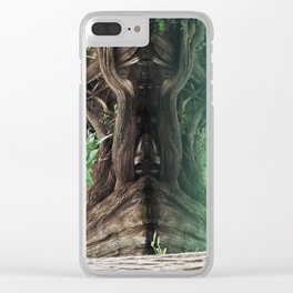 Illusion Stump Clear iPhone Case