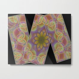 abstract background texture Metal Print