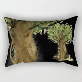 The Fortune Tree #3 Rectangular Pillow