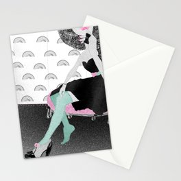 If the shoe fits... buy it in every colour II Stationery Cards