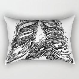 The Illustrated A Rectangular Pillow