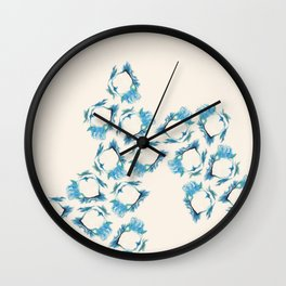 A person who has good thoughts cannot ever be ugly Wall Clock