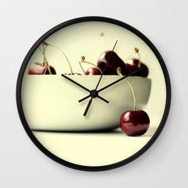 cherries V Wall Clock
