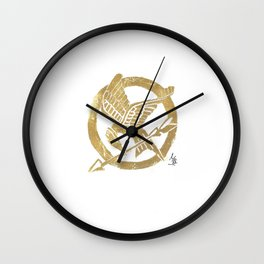 Mocking Jay Wall Clock