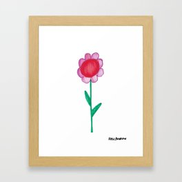Flower 2 Framed Art Print
