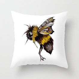 The Bee Throw Pillow