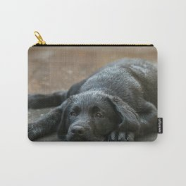 Labrador dog in the rain ! Carry-All Pouch