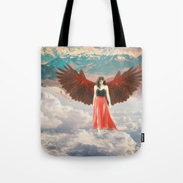 Lady of the Clouds Tote Bag