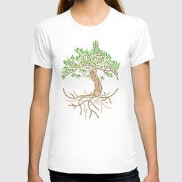 Rope Tree of Life. Rope Dojo 2017 white background T-shirt