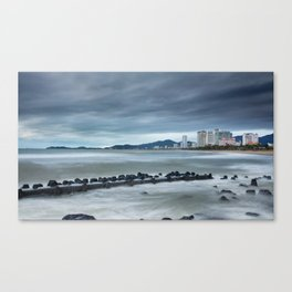 Morning Skyline Nha Trang Vietnam Canvas Print